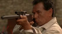 Wes Studi as Sam Franklin. The Only Good Indian