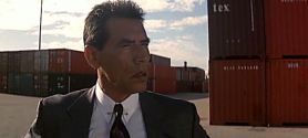 Wes Studi as Detective Casals - Heat, 1995