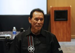 Wes Studi discusses new movie at the annual National Native Media Conference