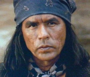 "Wes Studi as Geronimo (""Geronimo: an American Legend"")"